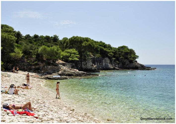 beautful bays and beaches of Vis island