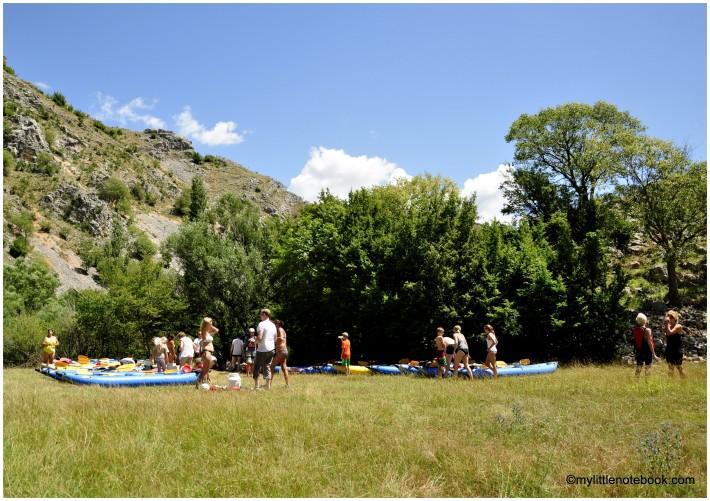 kayaking trip on river zrmanja