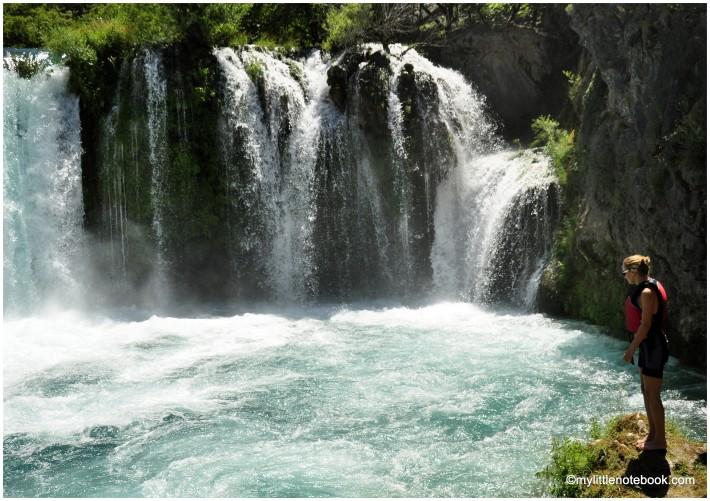 zrmanja waterfalls in croatia