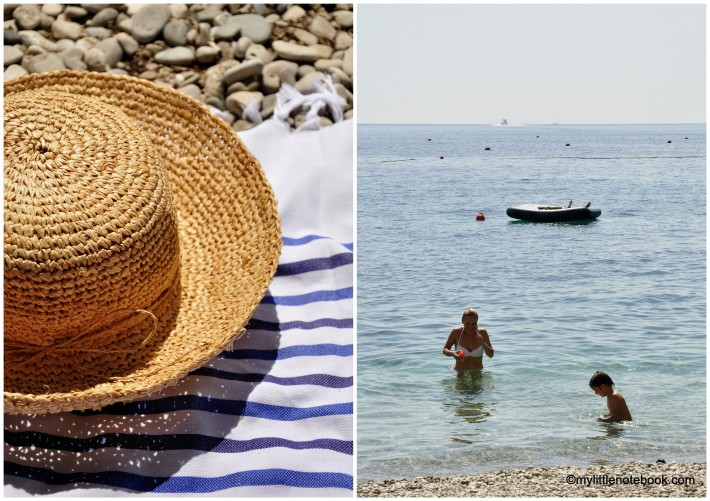 crystal clear water of Adriatic sea is perfect for summer vacation