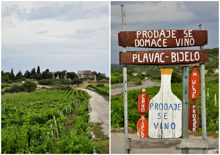 croatian wine from the island Vis is well known