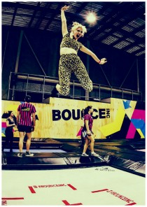 Jumping like a pro, trampolins for everyone in Bounce, Dubai
