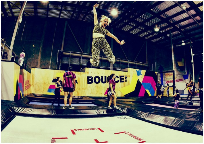 New playground in Dubai for jumping called Bounce