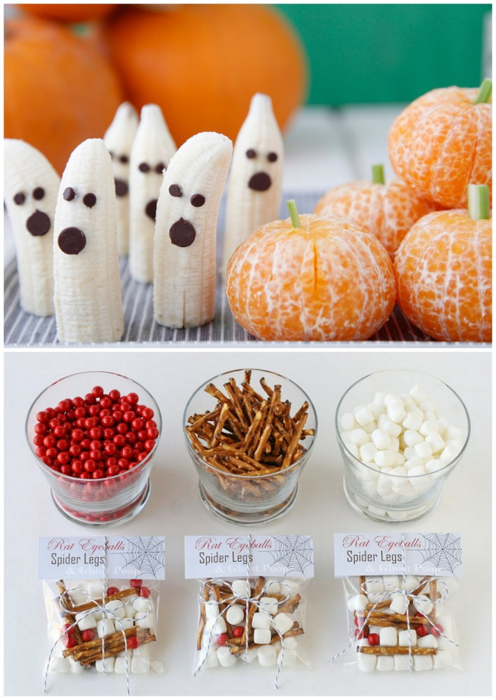 snack ideas for halloween party