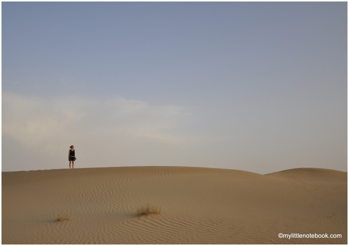 desert dunes are perfect escape from the city noise