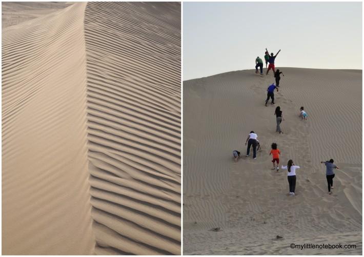 outdoor activities in the desert