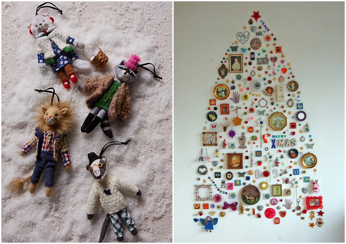 animal ornaments for christmas tree