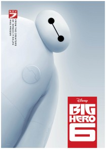 disney movie big hero 6 poster