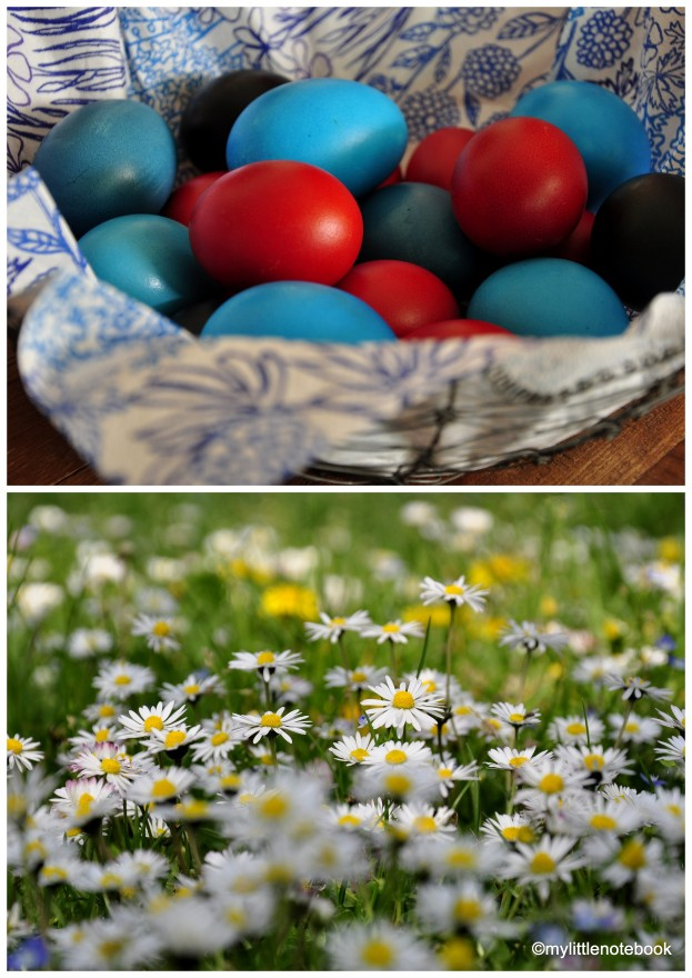 Easter eggs, how to color eggs for Easter, springtime