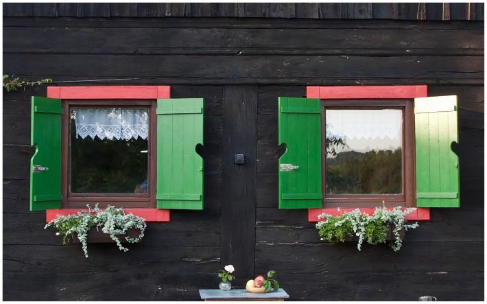 wooden cottage in croatia near Zagreb