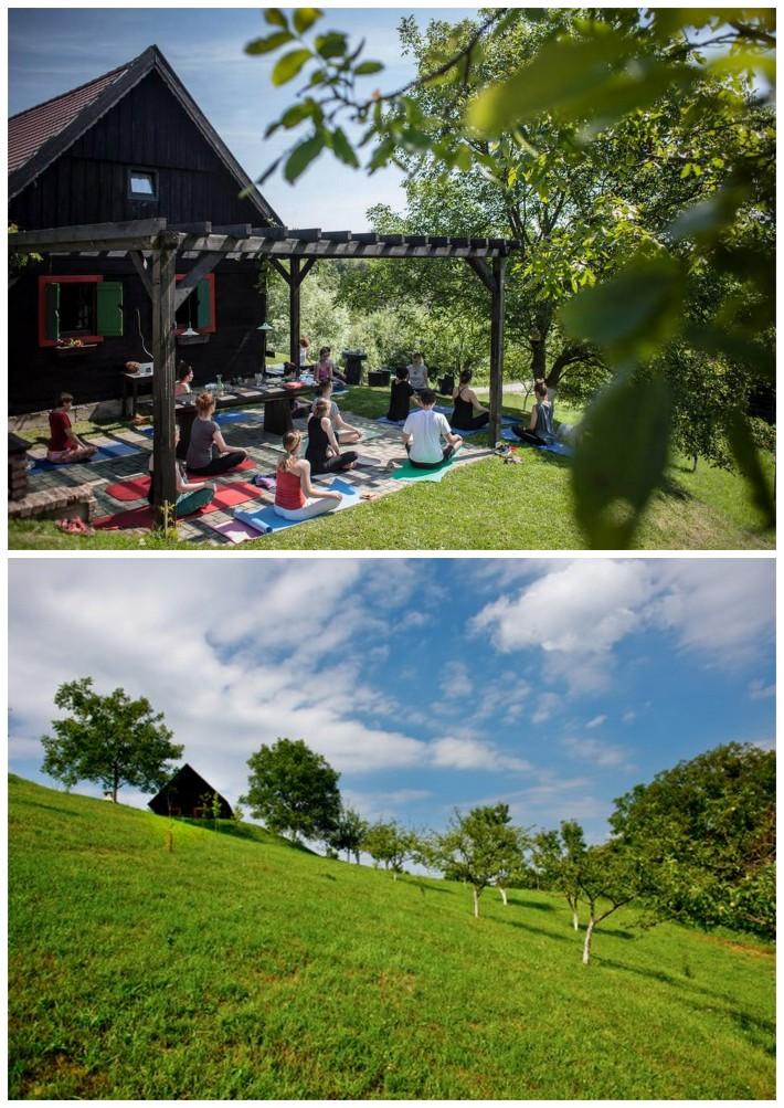 yoga, healthy lifestyle, nature