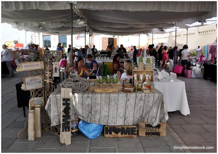 Marina Souq stalls