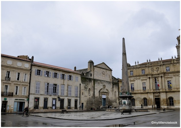 Decadent Arles in France