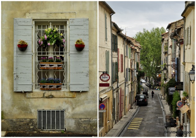 Street life in Provence