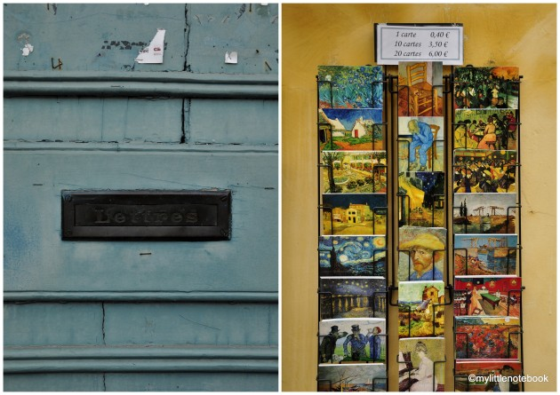 Snail mail and vintage postvards