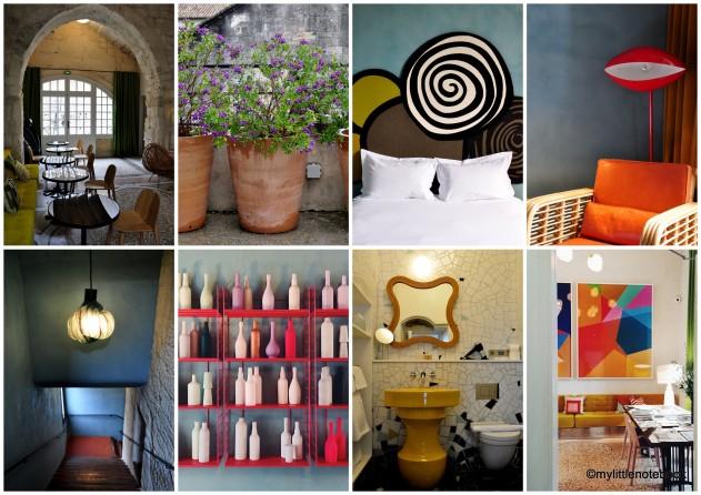 design hotel du Cloitre in Provence