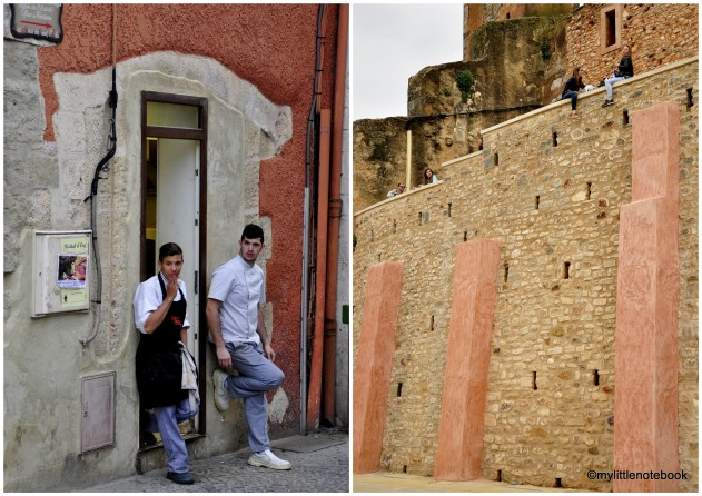 boys and girls in roussillon, provence