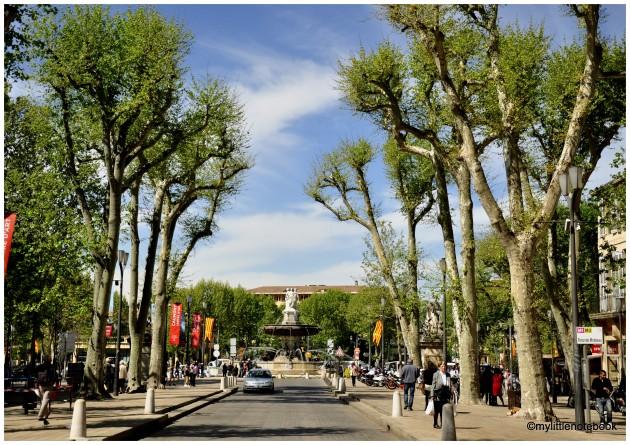 fountains of aix en provence