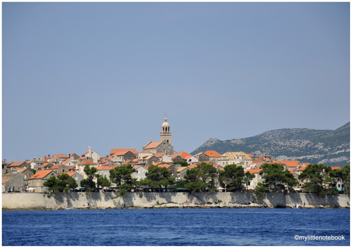 Korcula town is one of the most beautiful spots in Croatia