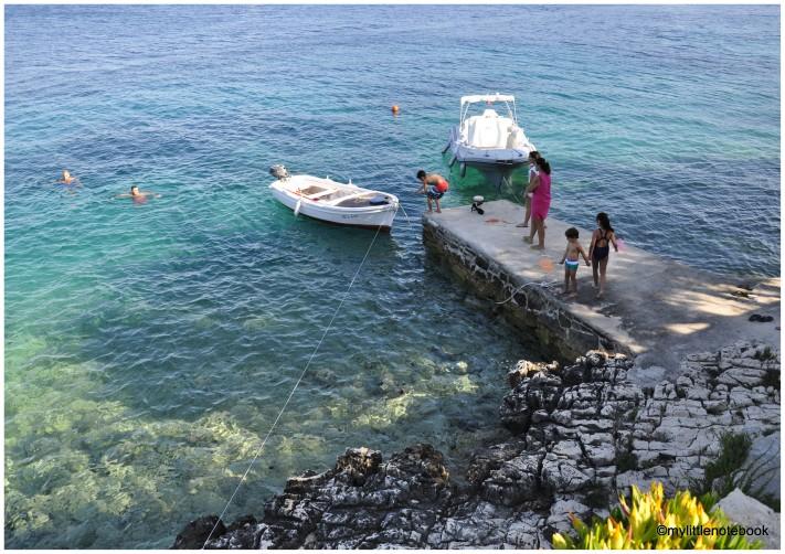 family vacation on Korcula island