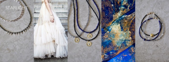 Starlight collection by Efhi jewelry