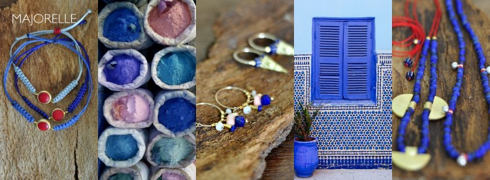 Majorelle collection by Efhi jewelry