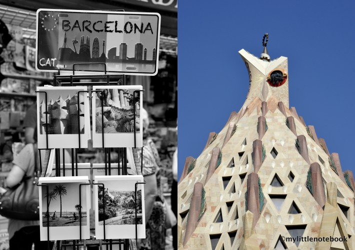 postcard from barcelona